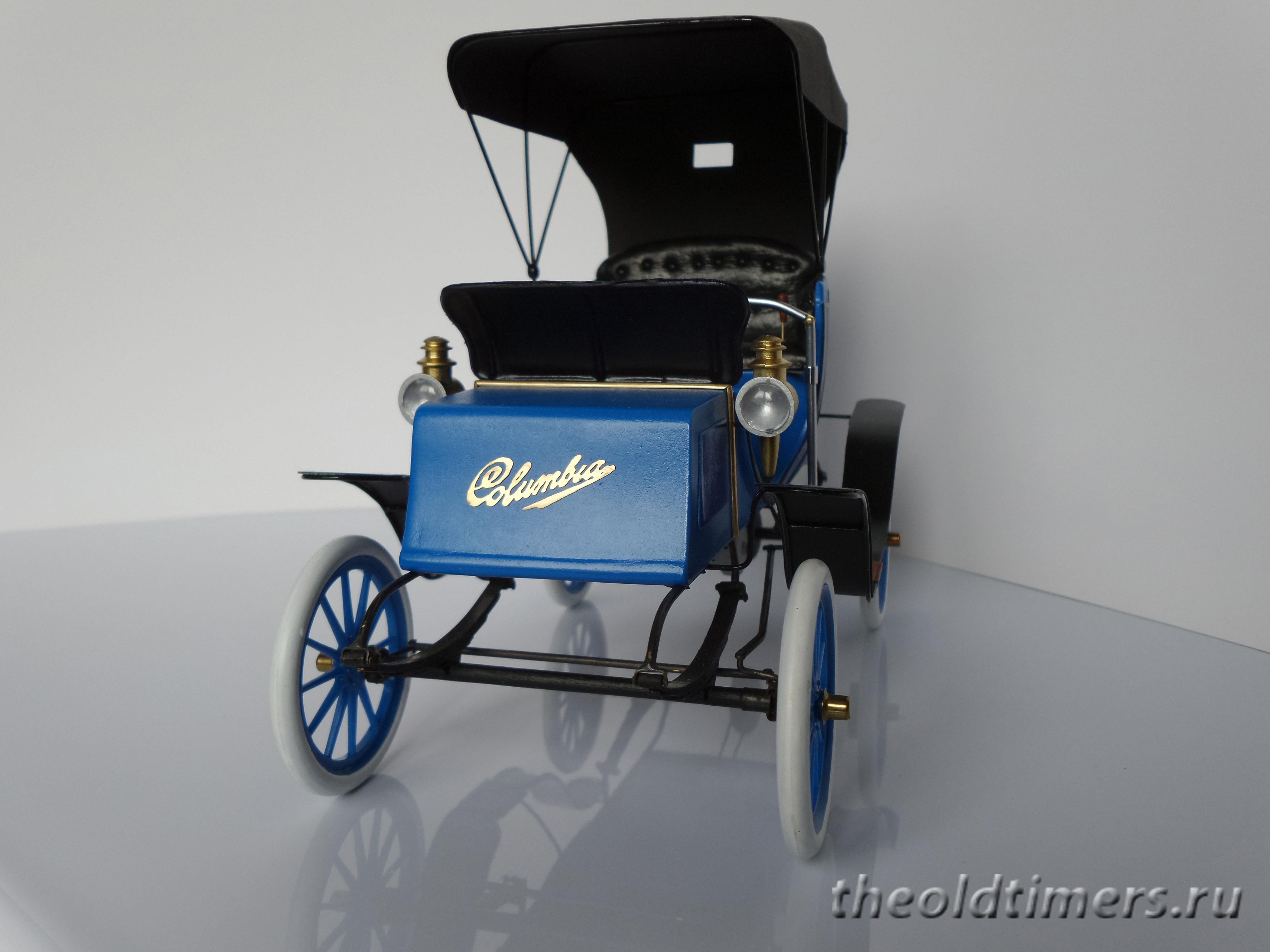 Columbia Electric 1906 Hudson Miniatures